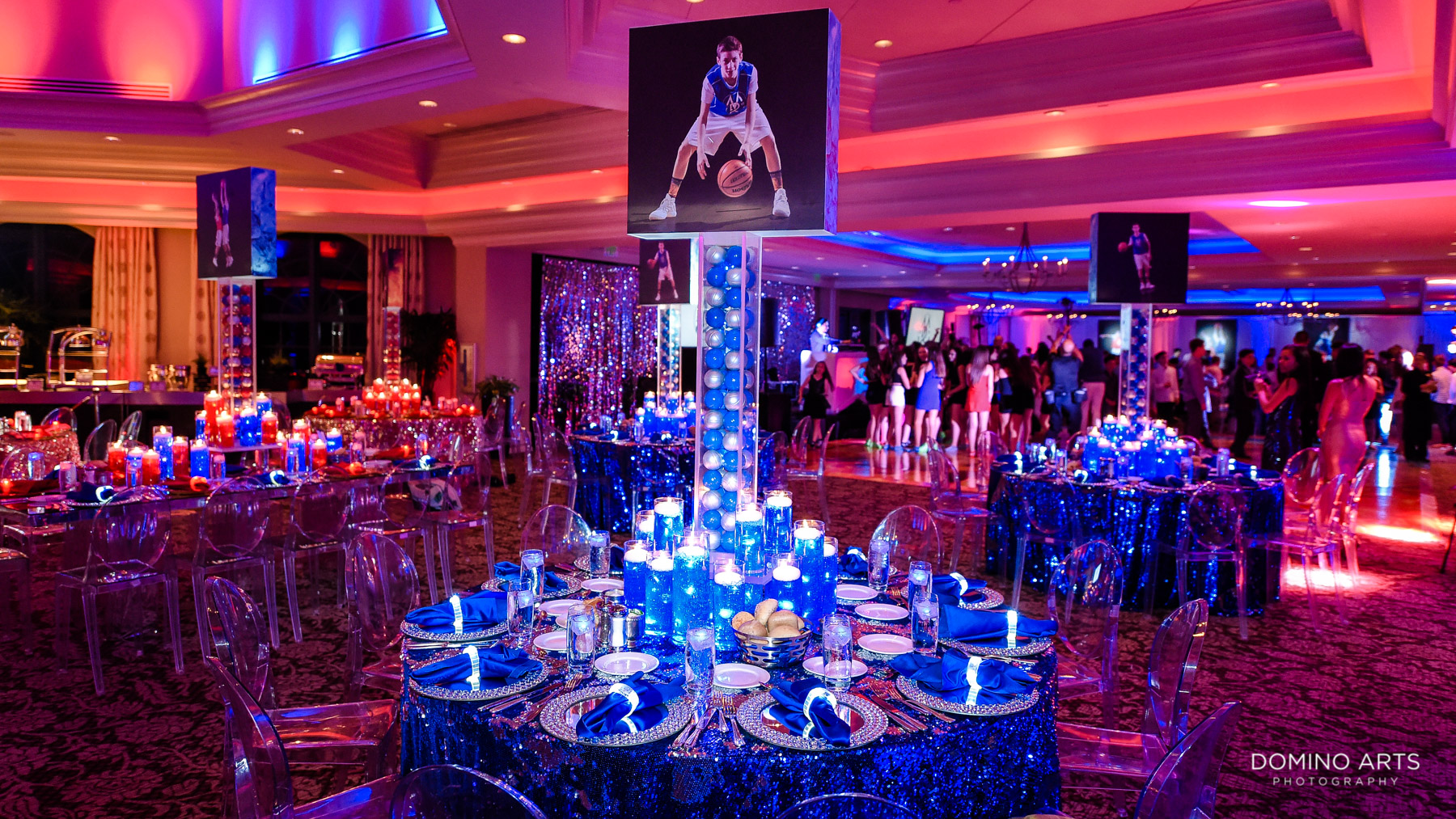Basketball Theme B'Nai Mitzvah at Broken Sound Country Club