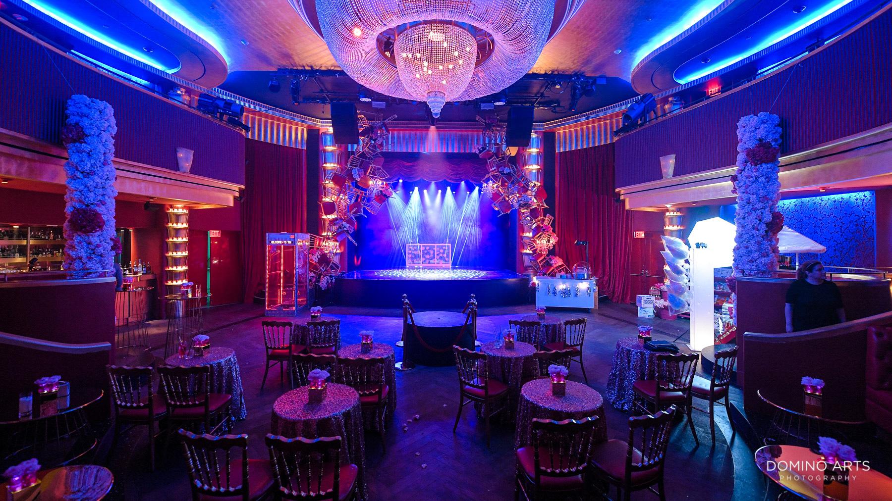 Theater theme Most beautiful Luxury Bat Mitzvah at Faena Hotel Miami Beach