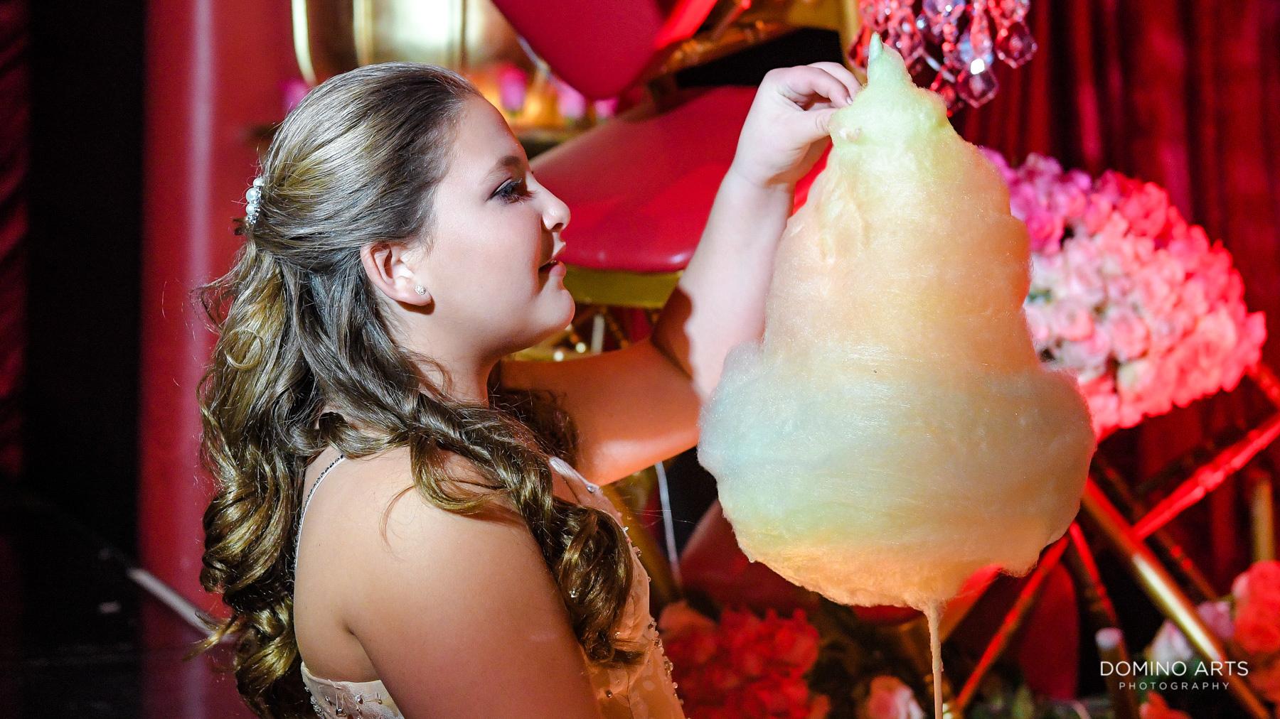 Unique fun decor at Luxury Bat Mitzvah at Faena Hotel Theater Miami Beach