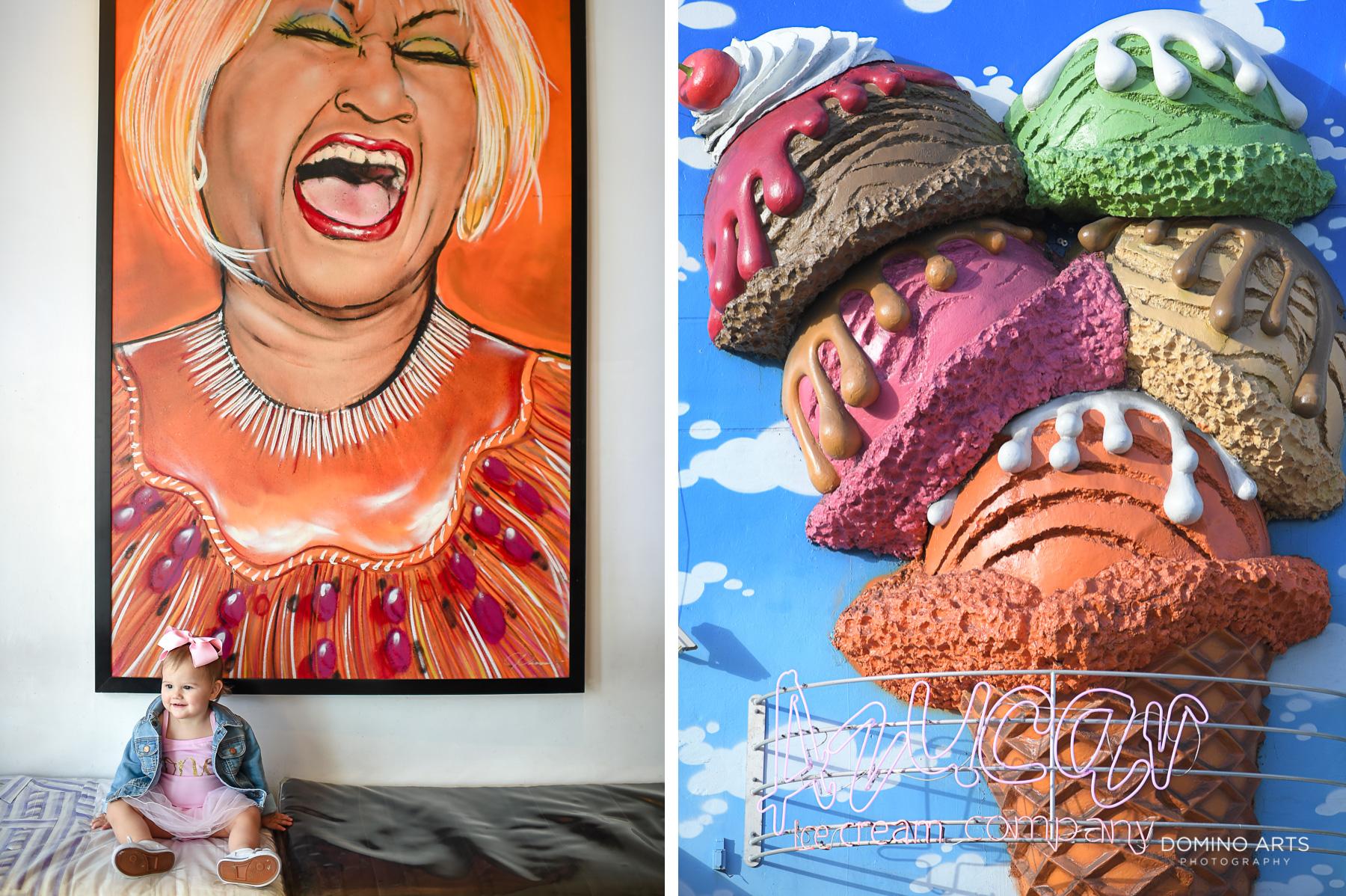 Azucar Celia Cruz Family fun in Little Havana Miami photo session