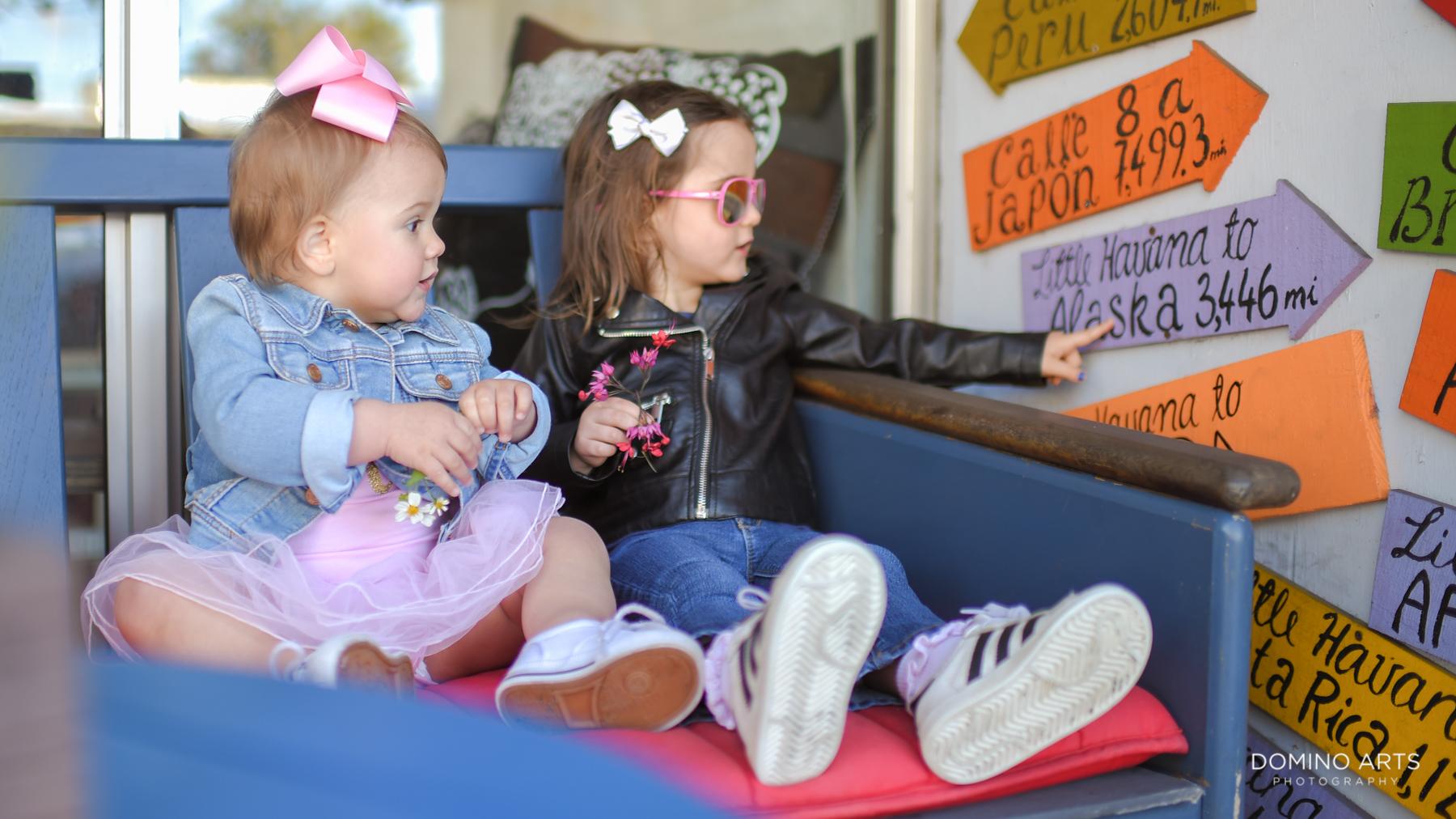 Fun childrens photography in Little Havana Miami Destination