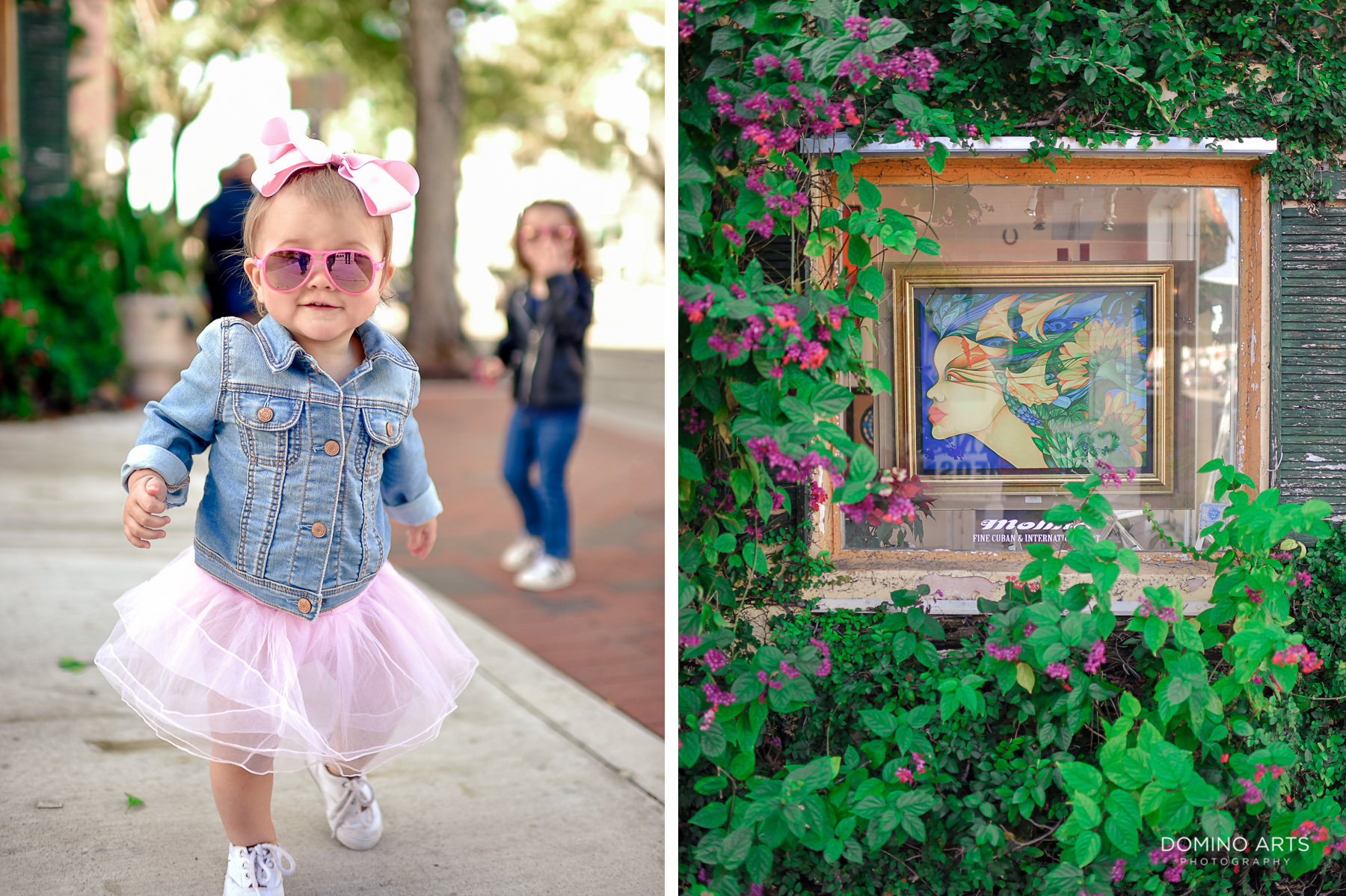 Fun family photography in Little Havana Miami Destination kids and details