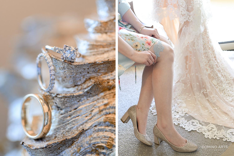 Wedding pictures of details at The Ritz Carlton Sarasota