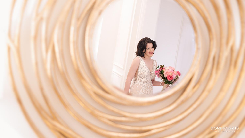 Luxury wedding photos of a bride at The Ritz Carlton Sarasota