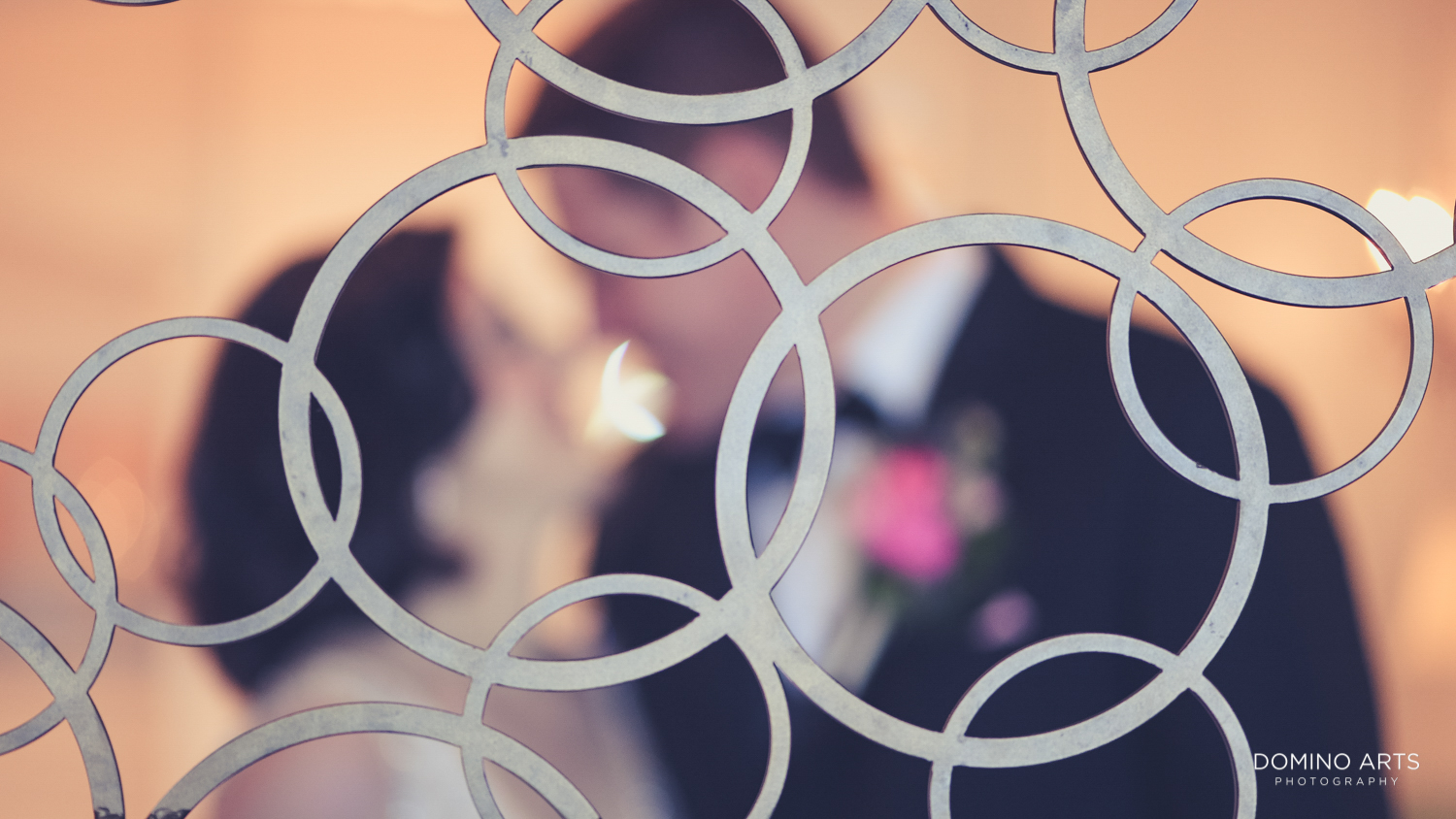 Abstract photo of a bride and groom at The Ritz Carlton Sarasota