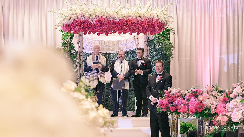 Wedding ceremony photo at The Ritz Carlton Sarasota