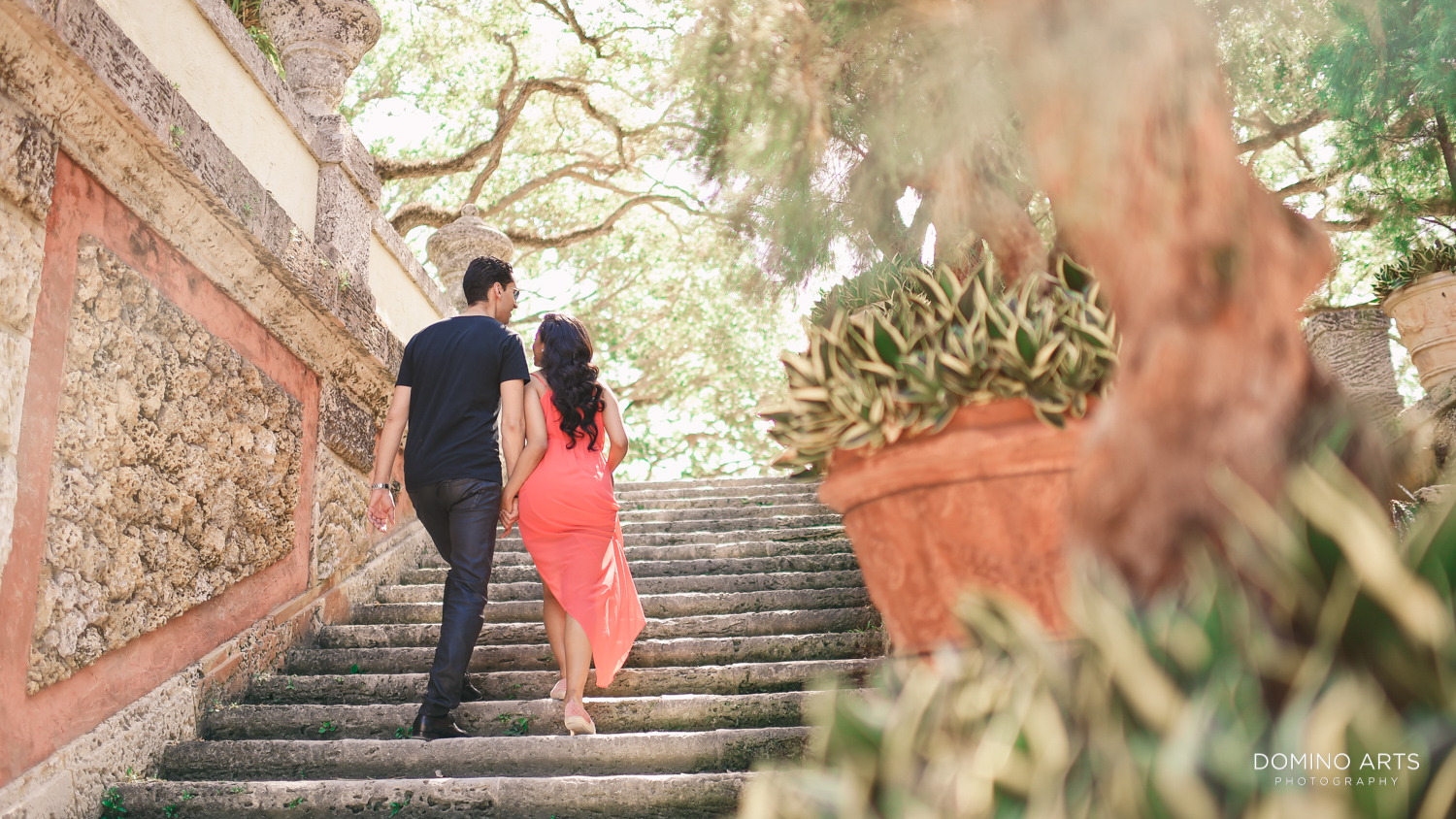 vizcaya engagement pictures
