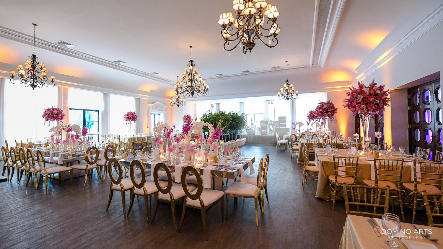 Luxury wedding and Boutique decor Photography at The Bath Club