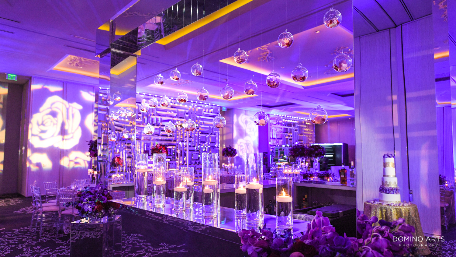 Elegant Luxury wedding décor at The St. Regis Bal Harbour