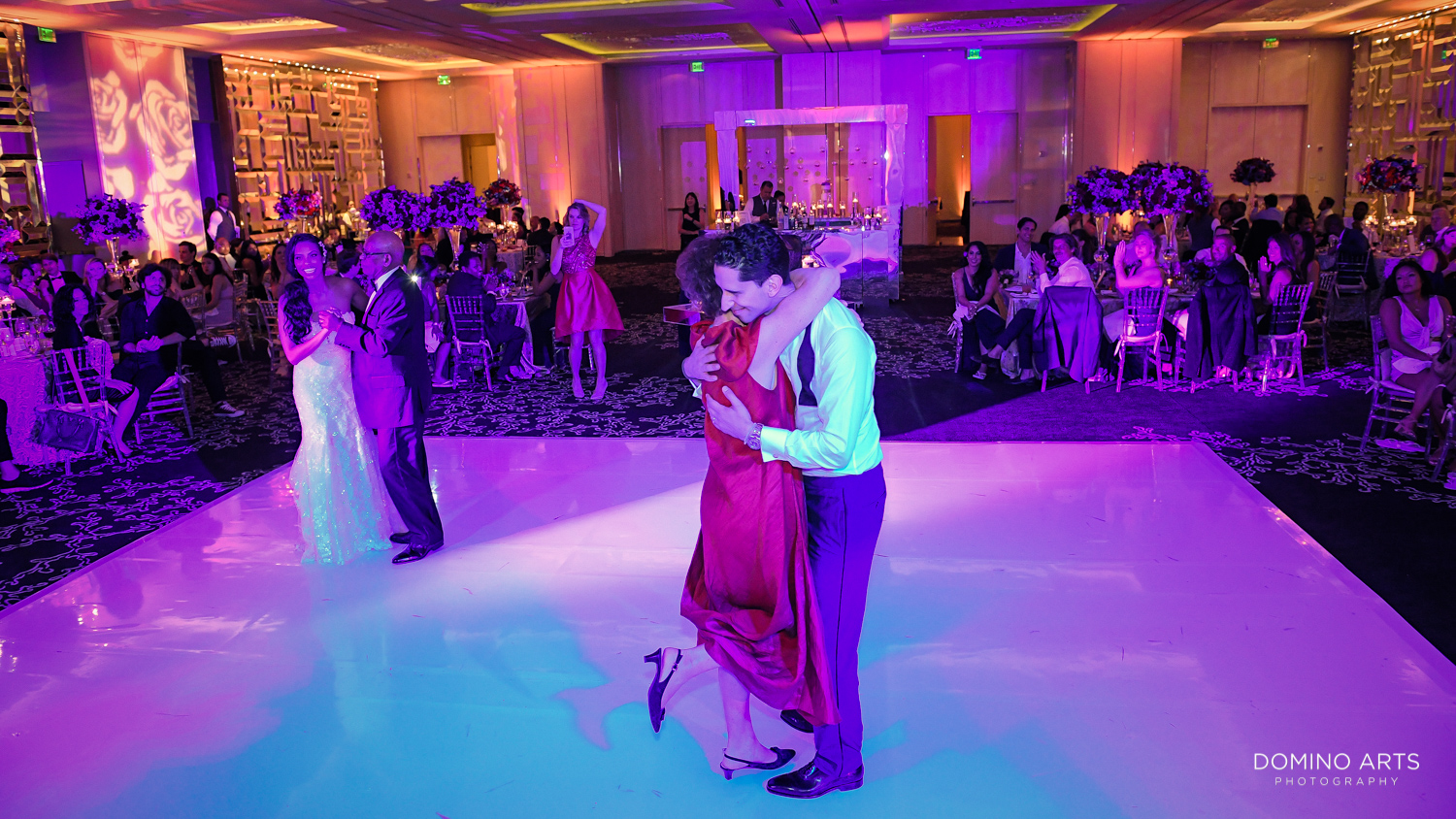 Wedding parent dance pictures at The St. Regis Bal Harbour