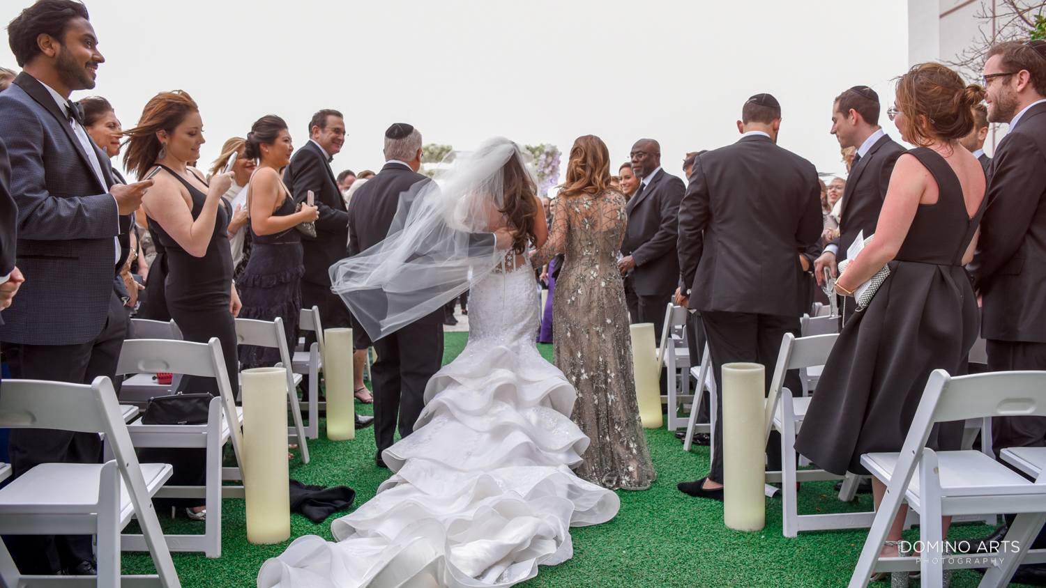 Wedding ceremony décor pictures at The Miami Beach Edition
