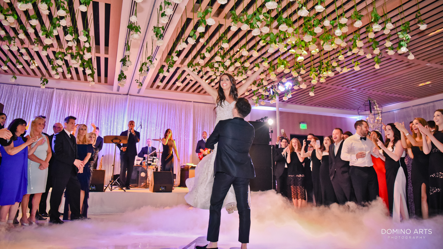Best wedding picture of bride and groom first dance at The Miami Beach Edition