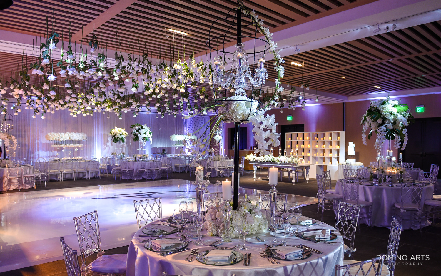 Elegant Luxury boutique wedding décor at The Miami Beach Edition
