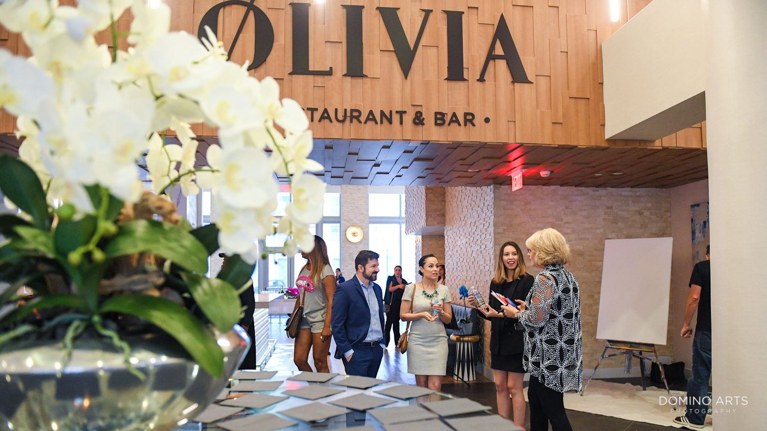 Delicious Food at Olivia Restaurant at Circ Hotel Grand Opening Corporate Event in Hollywood, Florida