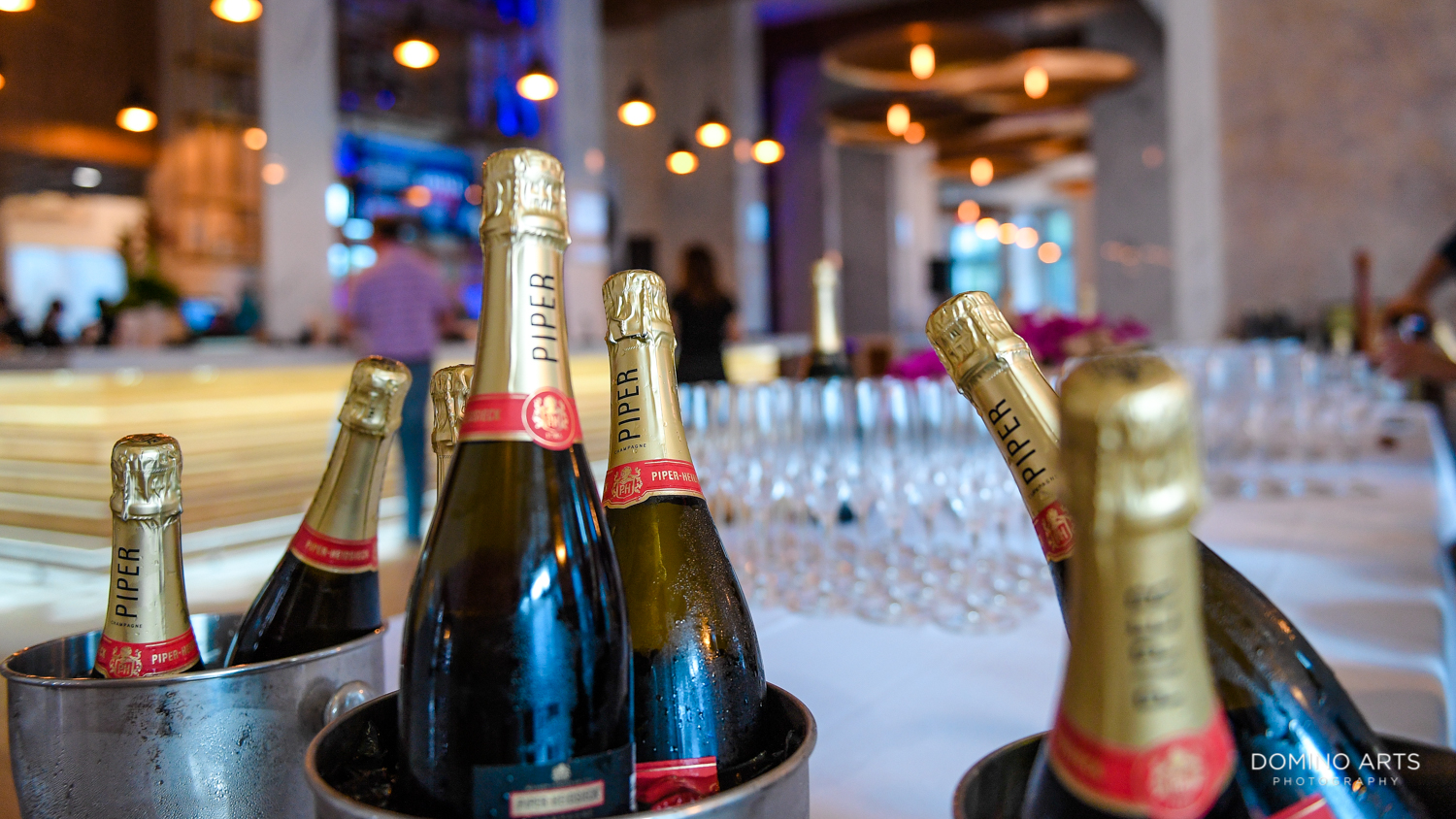 Champagne at Circ Hotel Grand Opening Corporate Event in Hollywood, Florida