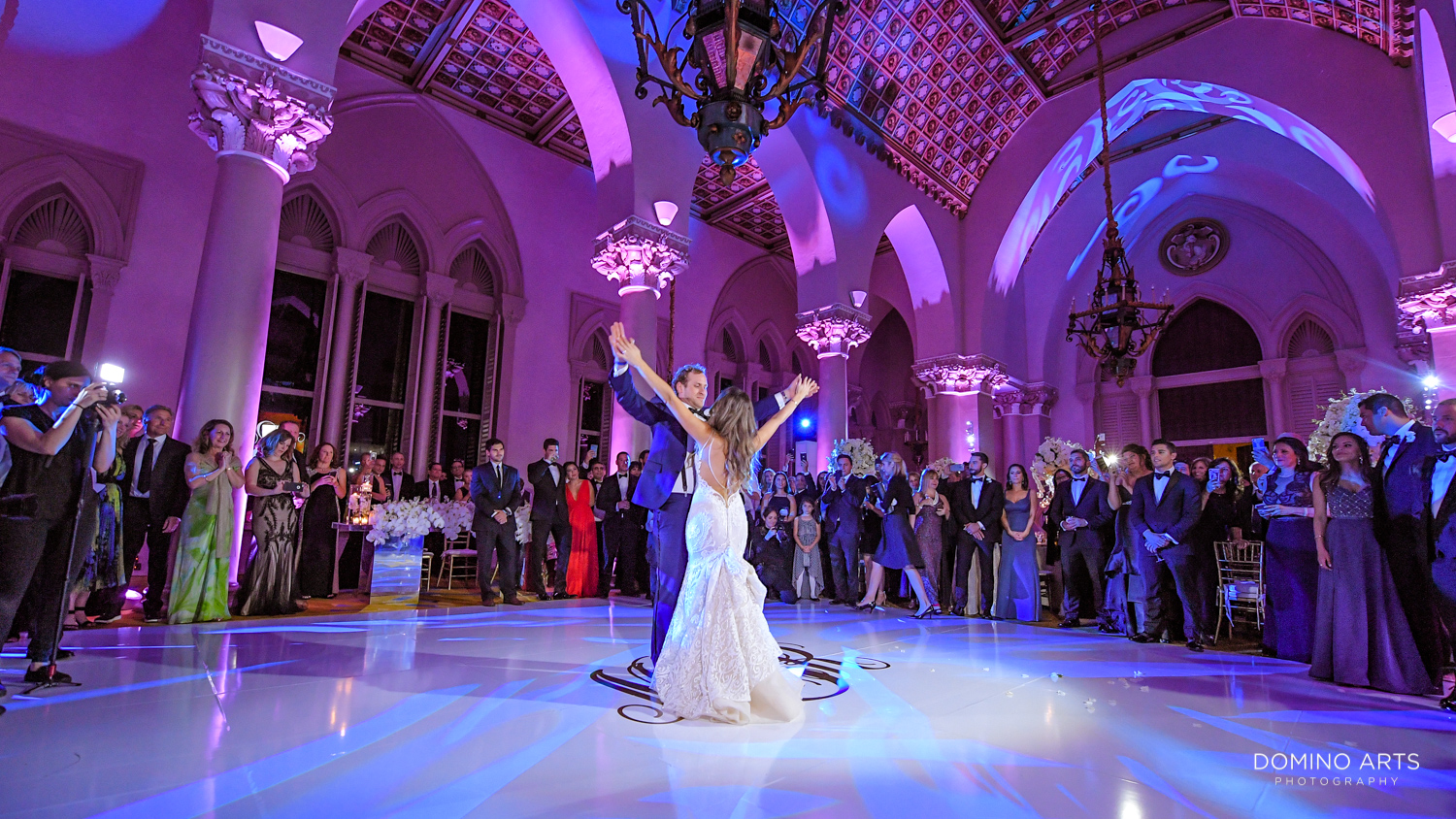 First dance wedding pictures at Boca Raton Resort