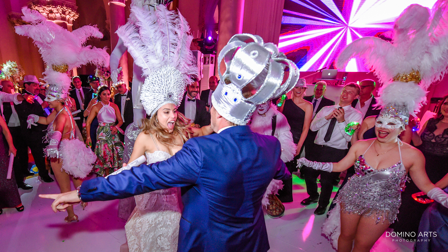 Wedding Hora Loca Show at Boca Raton Resort