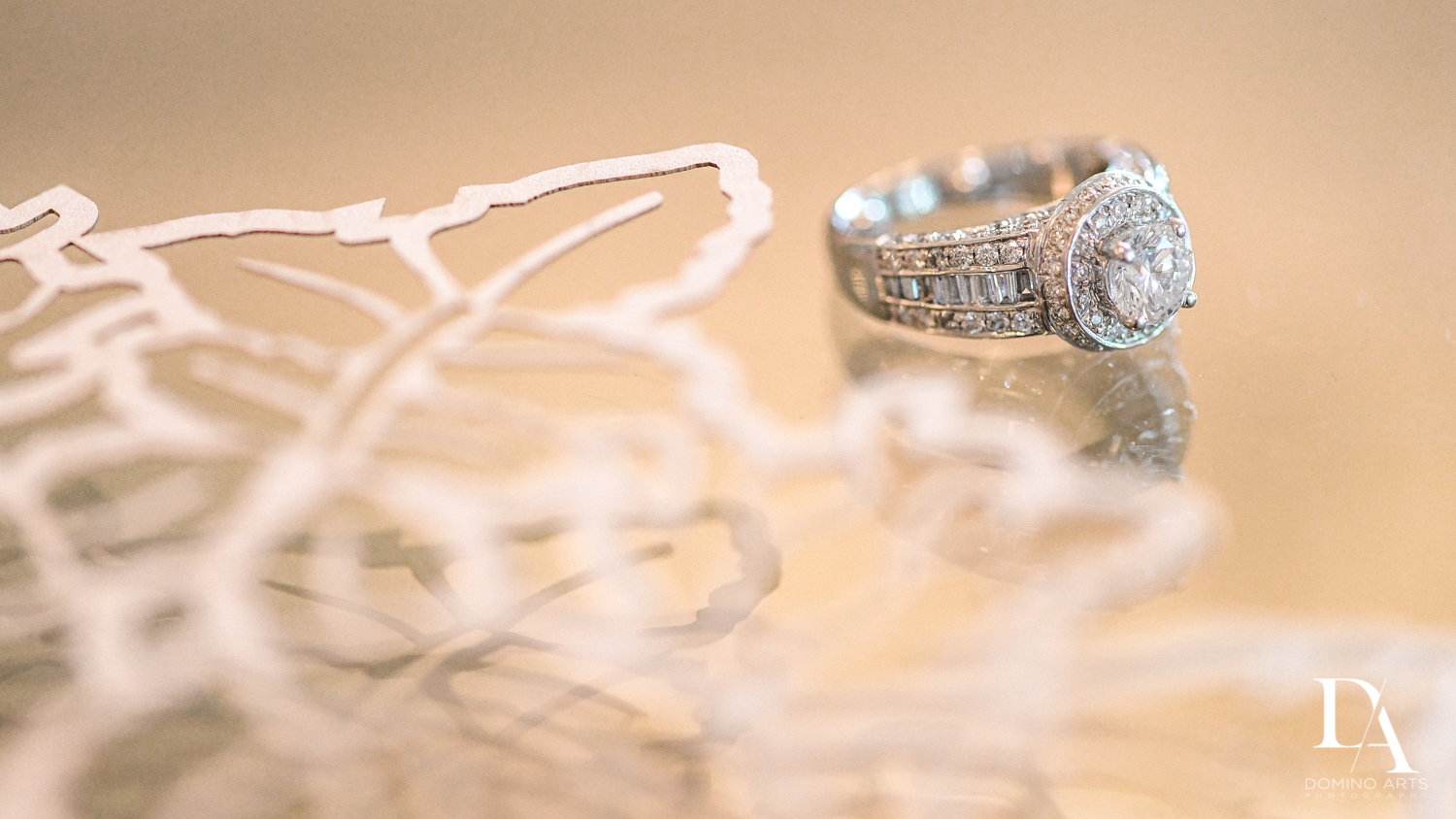 Creative Engagement ring pictures at The Addison Boca Raton