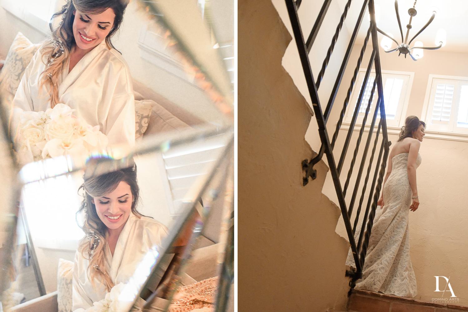 Bride getting ready picture at The Addison Boca Raton