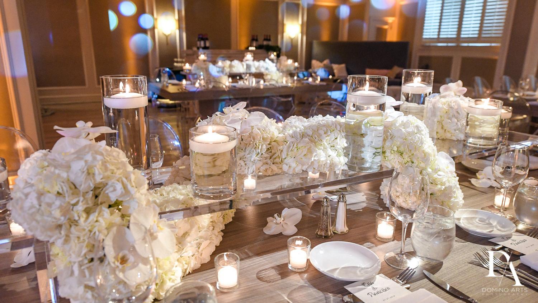 Elegant Luxury boutique wedding décor at The Addison