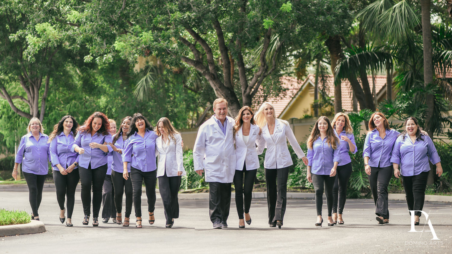 Dental Practice Corporate Photography in Fort Lauderdale by Domino Arts Photography