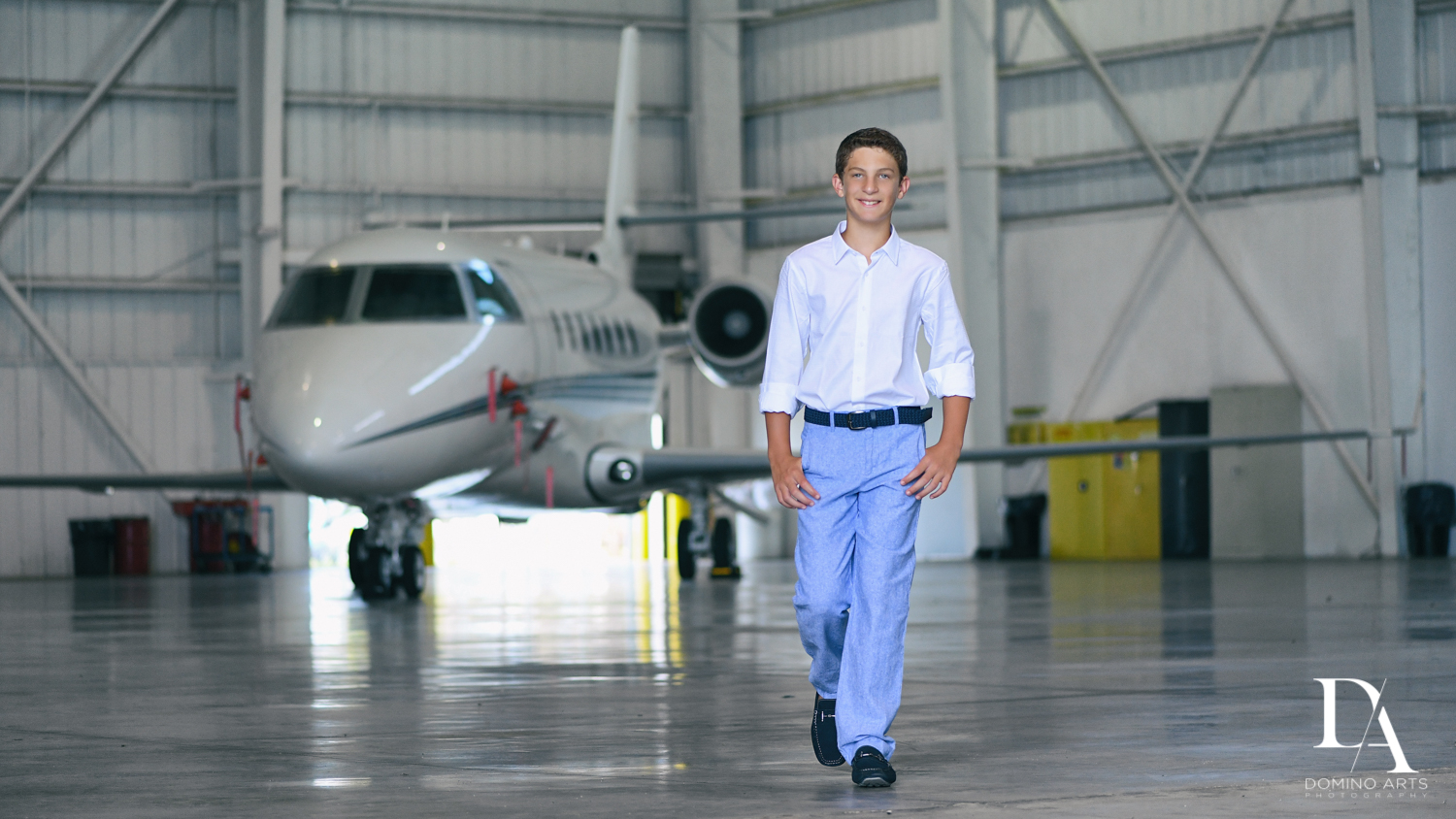 Cool Pre Mitzvah Photo session at Airport