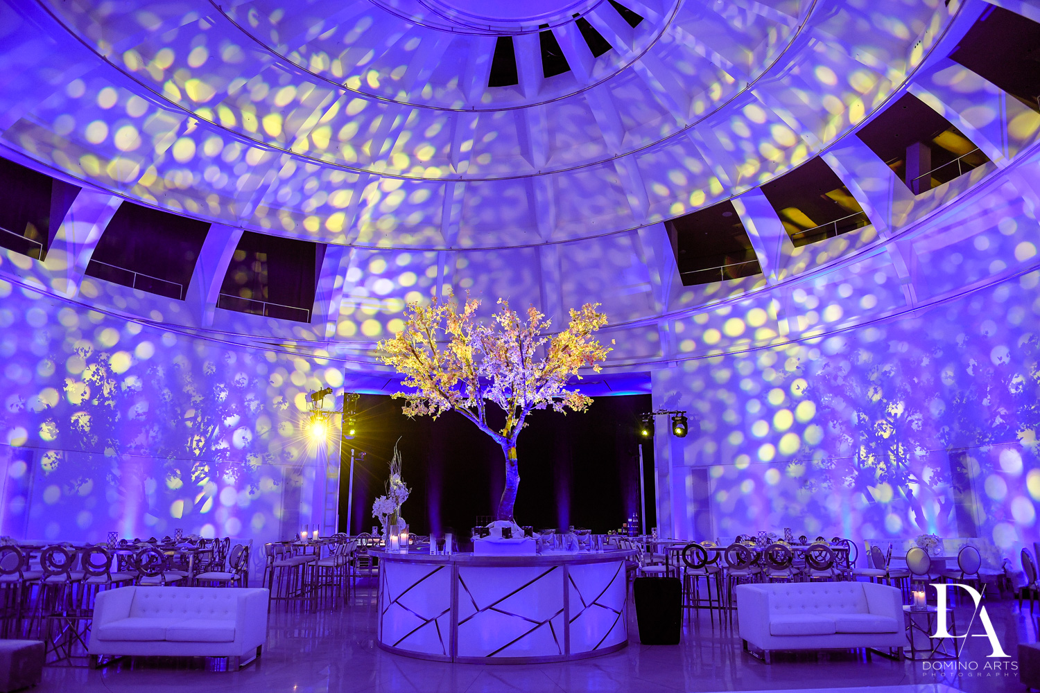 Luxury wedding décor at Faena Hotel Miami Beach