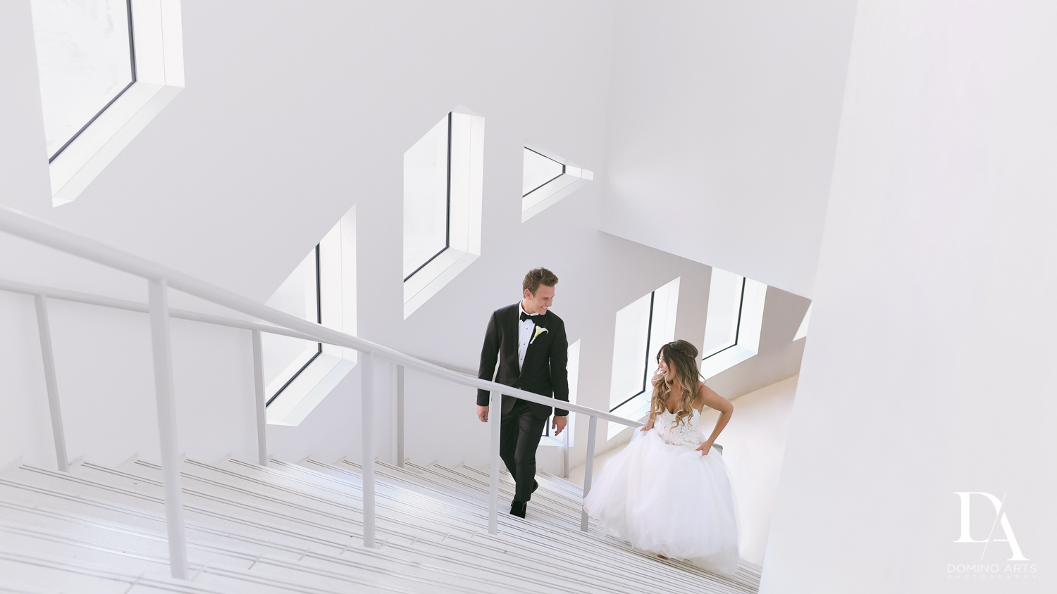 Luxury destination wedding pictures of bride and groom at Faena Hotel Miami Beach