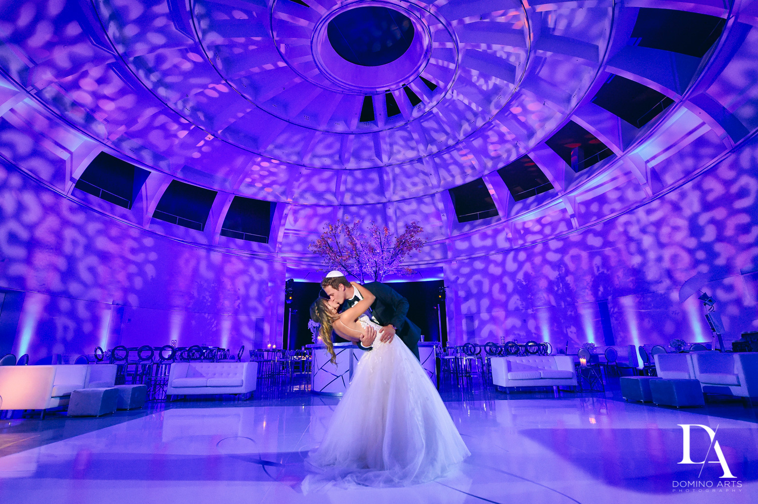 Elegant Luxury boutique wedding décor at Faena Hotel Miami Beach