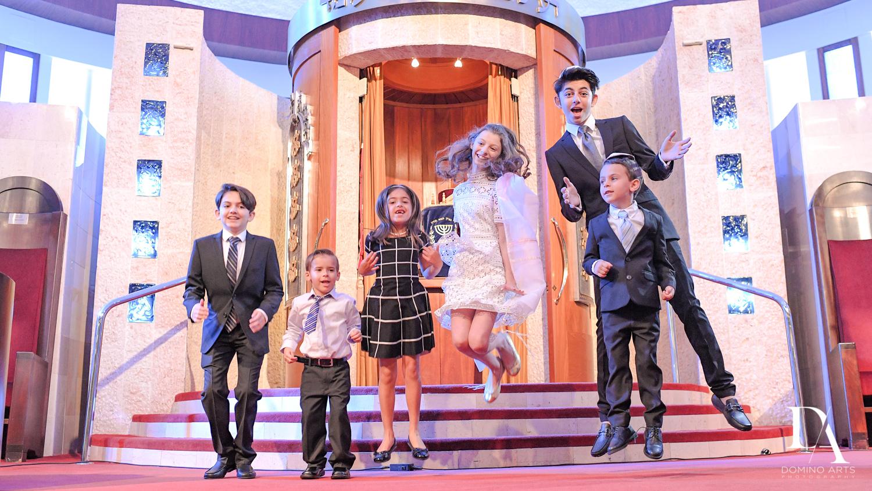 Fun family portraits at Aventura Turnberry Jewish Center Mitzvah
