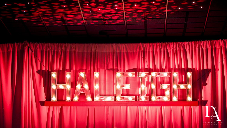 Broadway Theme Bat Mitzvah Decor Photography at Miami Beach Resort