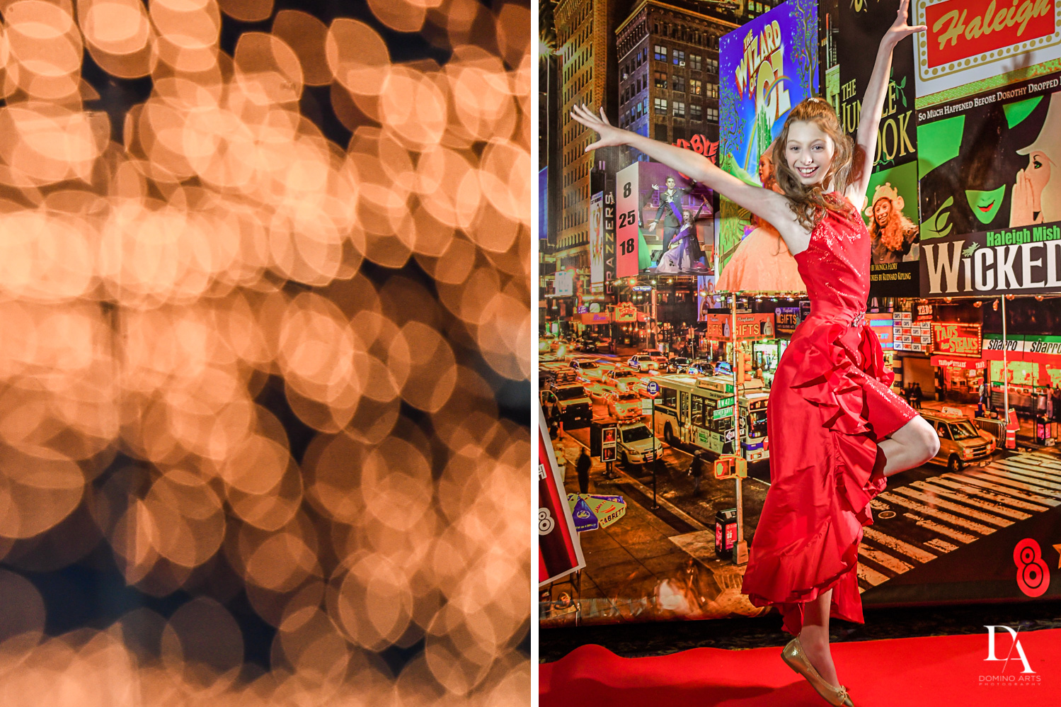 Fun portraits at Broadway Theme Bat Mitzvah Photography at Miami Beach Resort