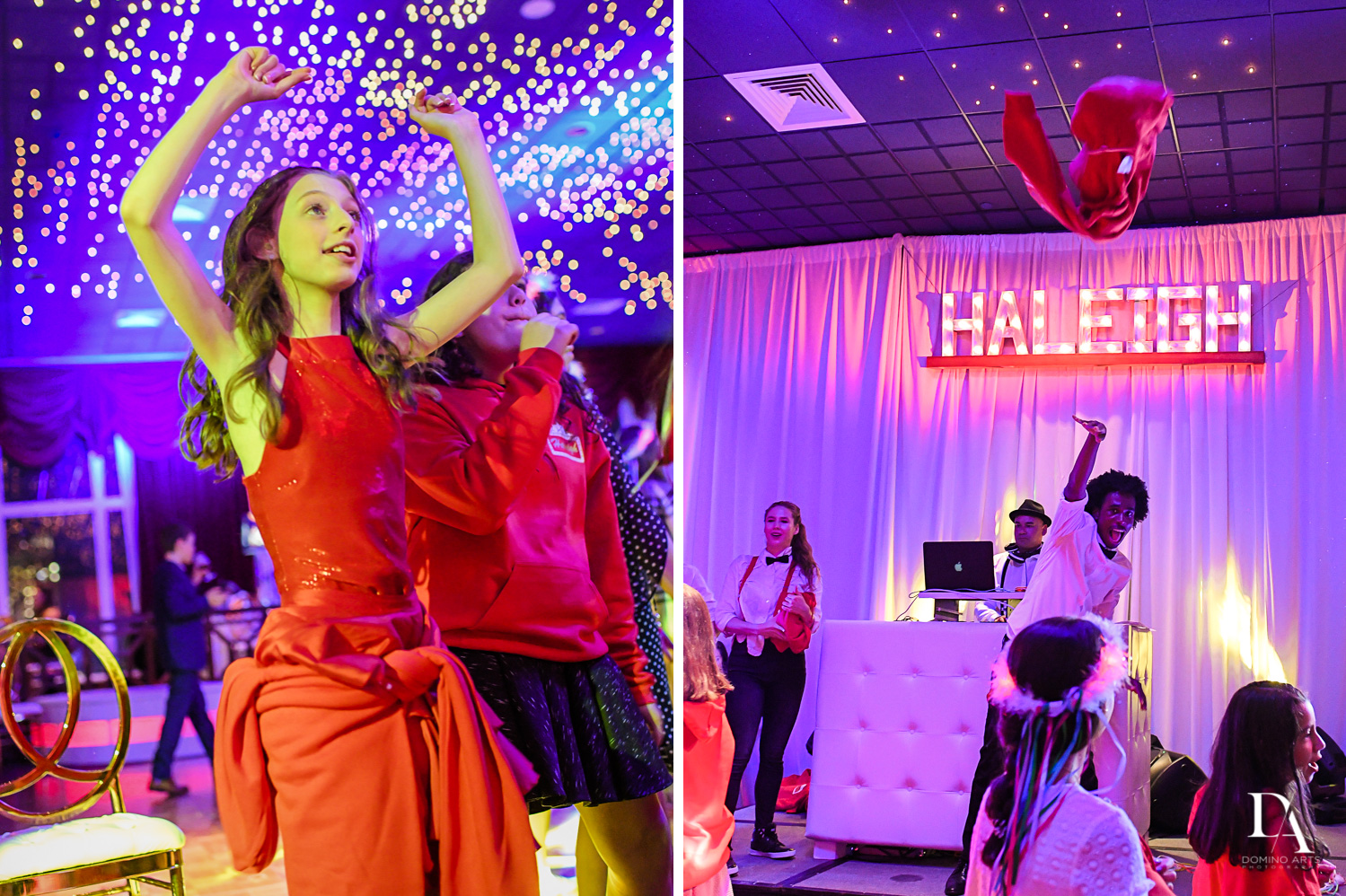 Fun and party favors at Broadway Theme Bat Mitzvah Photography at Miami Beach Resort