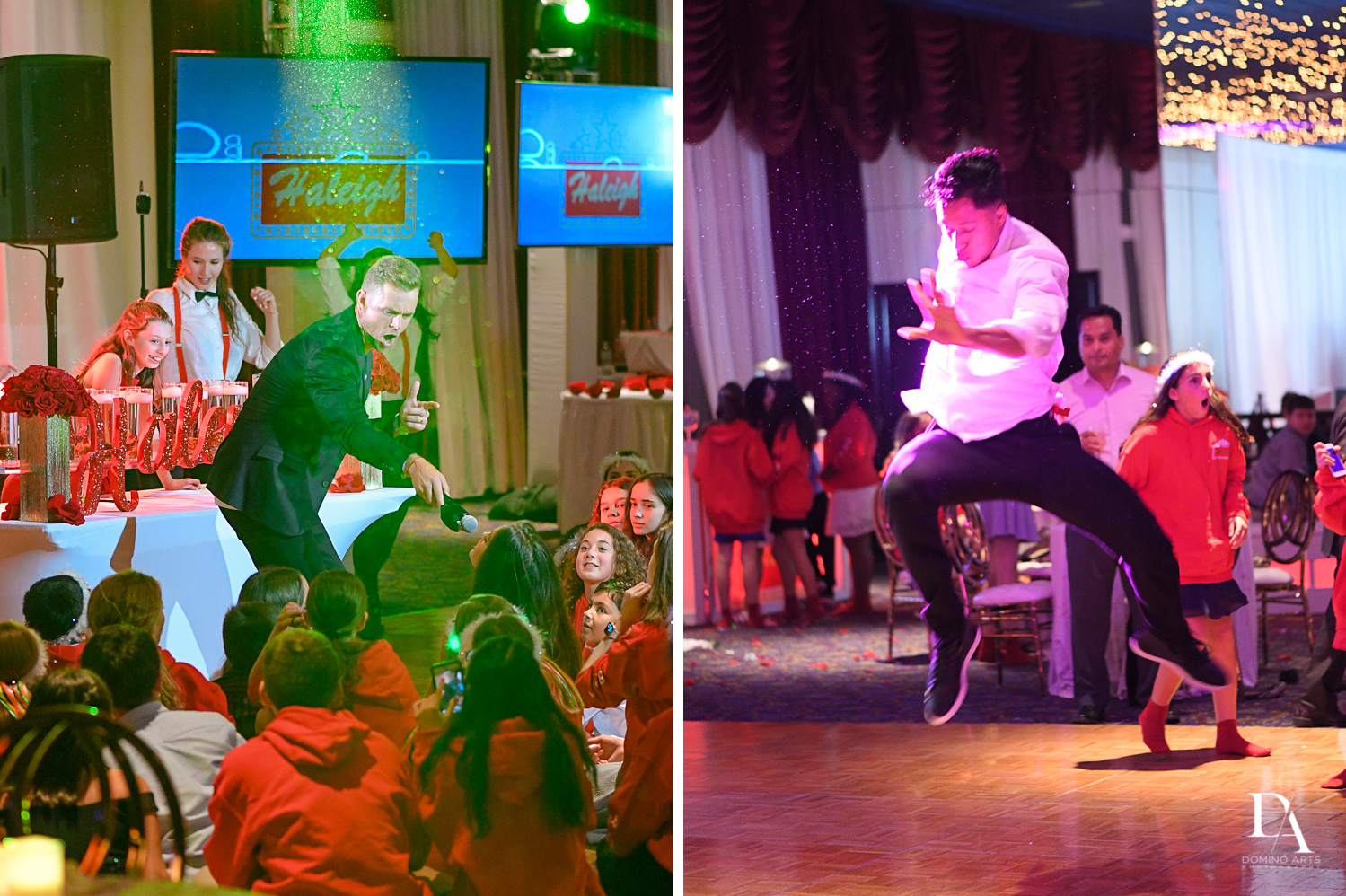 Best Entertainers Rock with U at Broadway Theme Bat Mitzvah Photography at Miami Beach Resort
