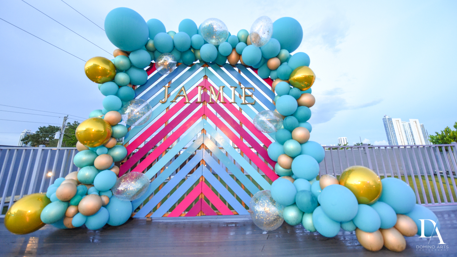 Birthday Party Decor at Wynwood Miami by Domino Arts