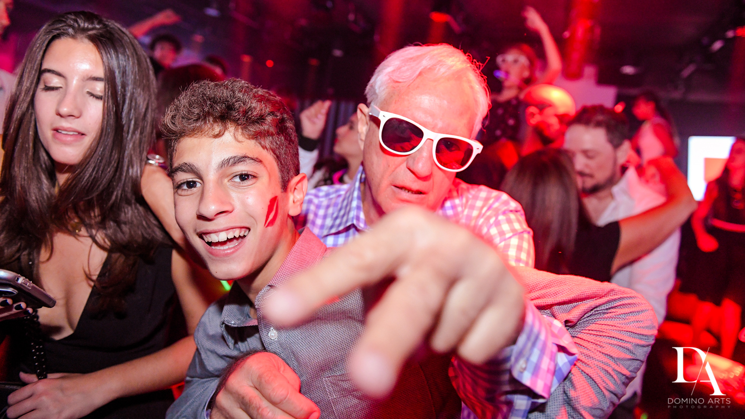 Fun party at Nike sneaker theme mitzvah photography at the basement in the Edition Miami by Domino Arts