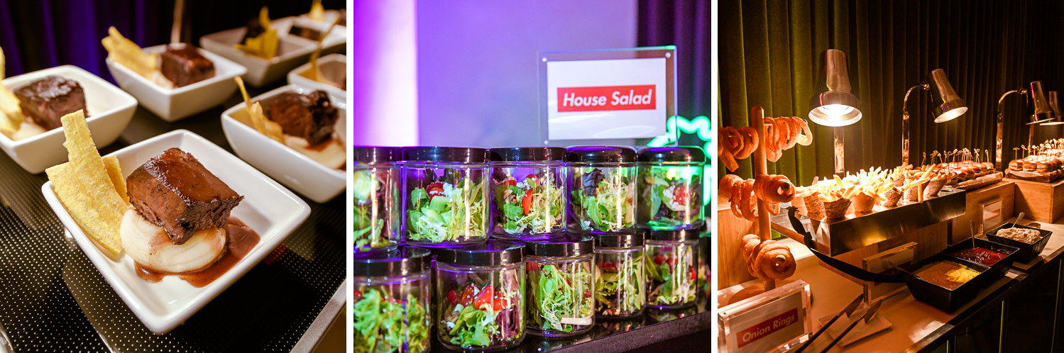 Best catering at mitzvah at the basement in the Edition Miami by Domino Arts Photography
