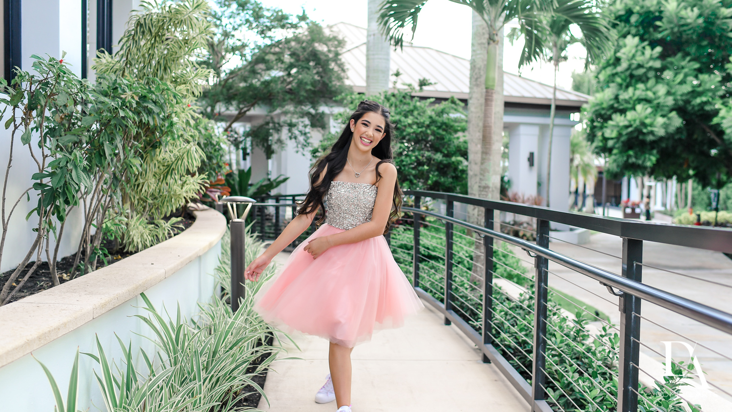 Fun Bat Mitzvah girl pictures at Saint Andrews Country Club South Florida by Domino Arts Photography