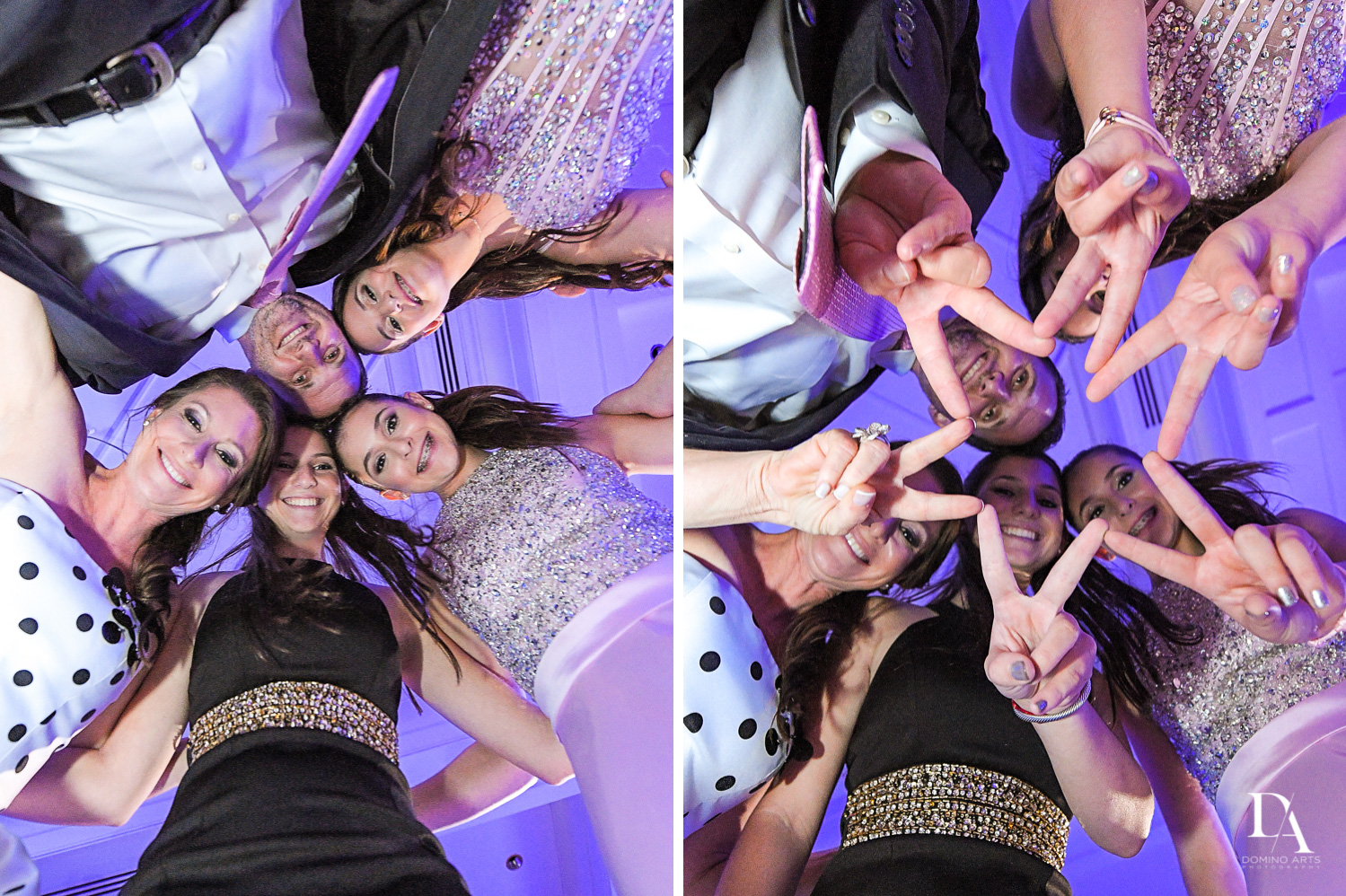 Fun party pics at Colorful pop art  Bnot Mitzvah at Royal Yacht Club by Domino Arts Photography