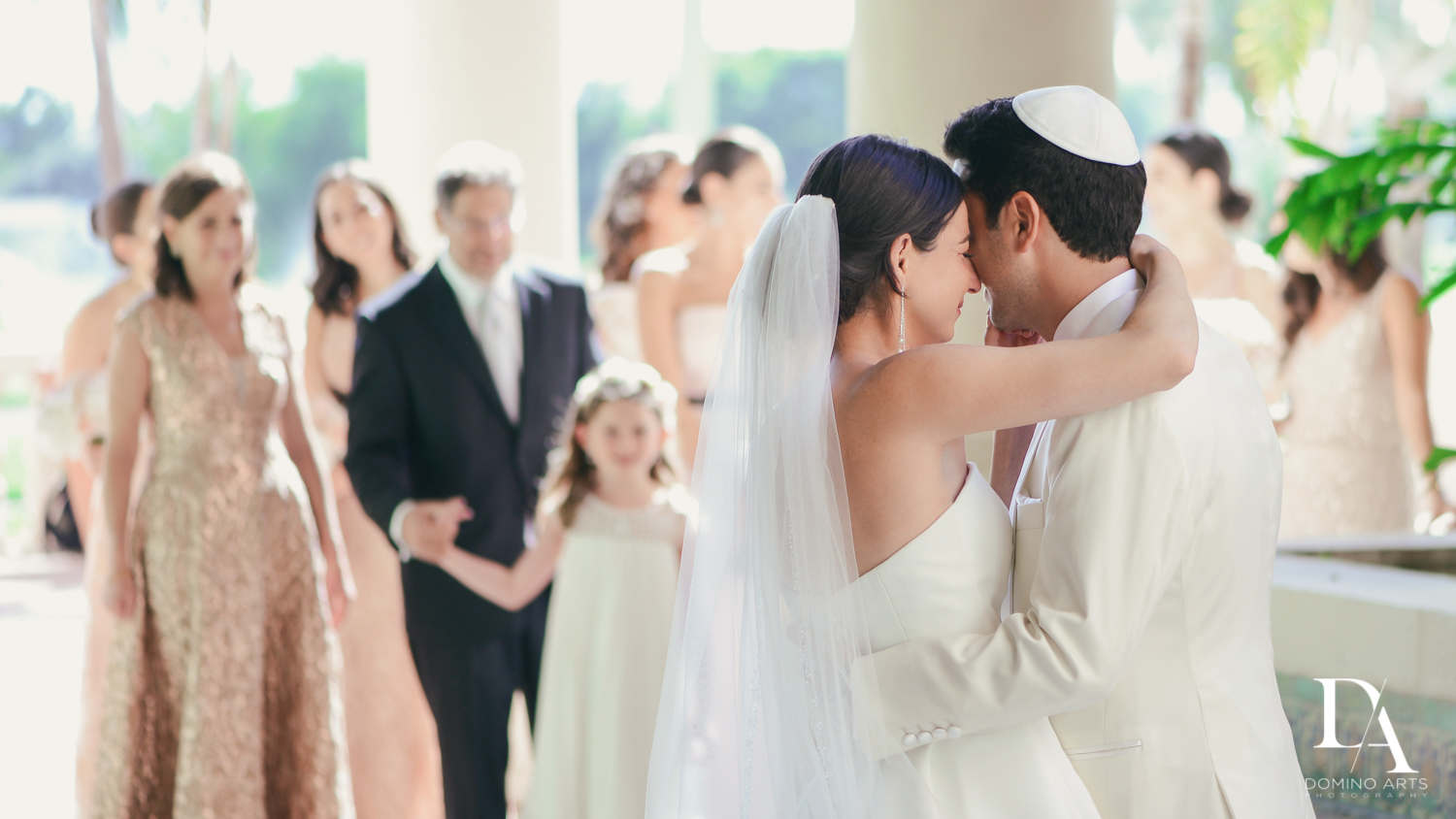 Modern Luxury Jewish Wedding Photography at Biltmore Miami Coral Gables