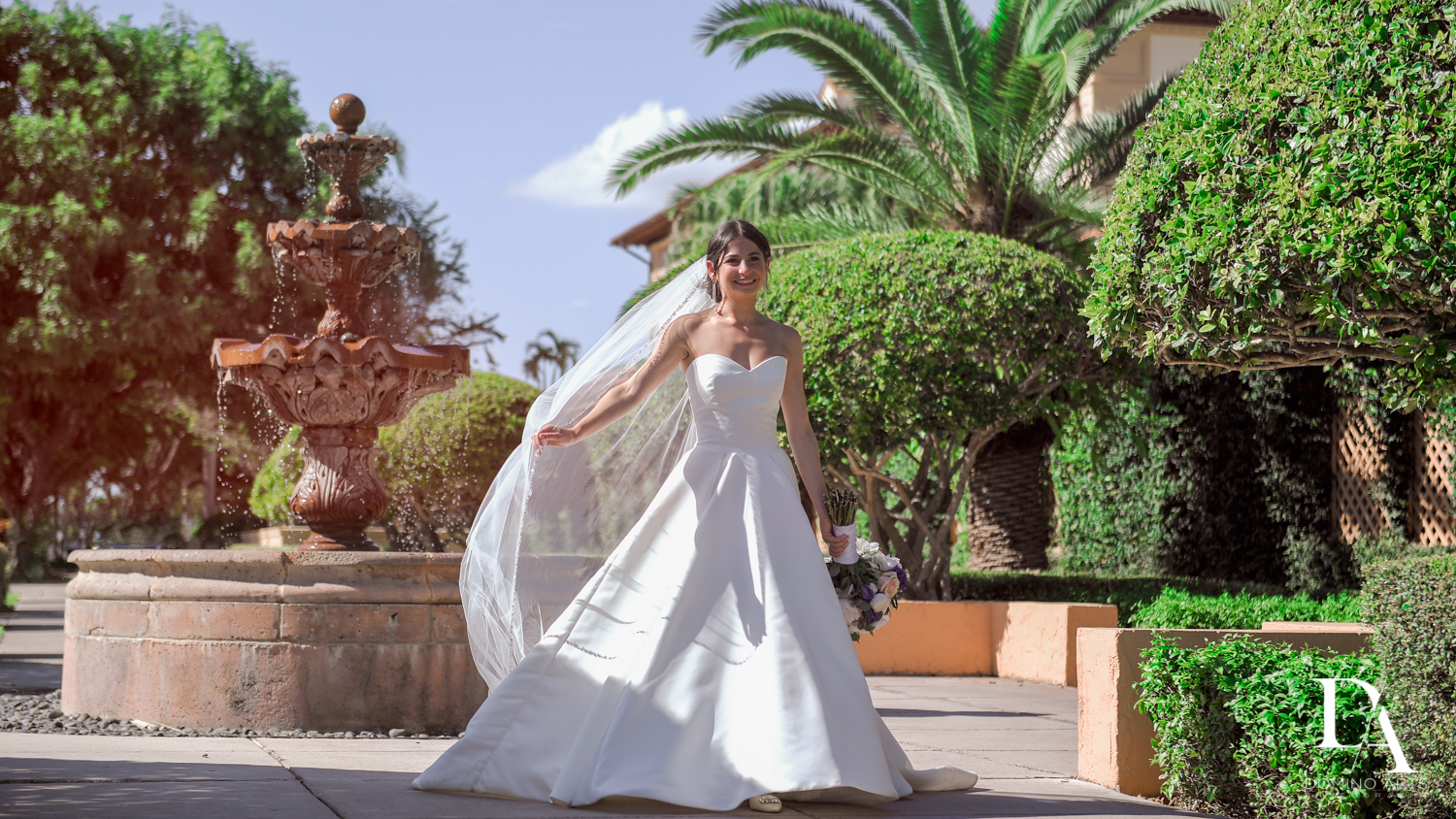 bride at Modern Luxury Jewish Wedding Photography at Biltmore Miami Coral Gables