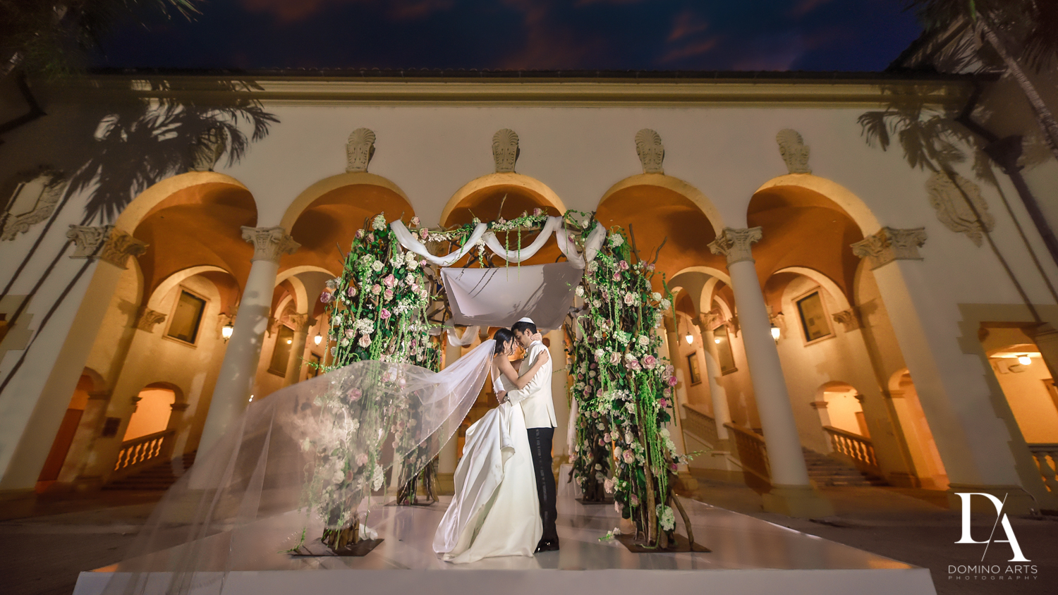 portraits at Modern Luxury Jewish Wedding Photography at Biltmore Miami Coral Gables
