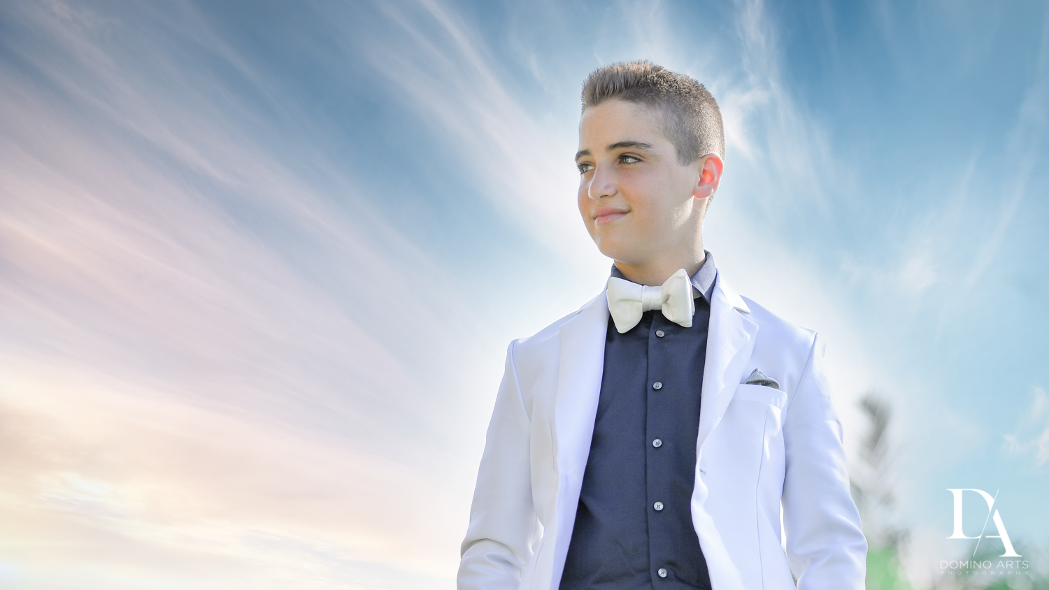 Portraits at Luxury B'Nai Mitzvah at Woodfield Country Club by Domino Arts Photography