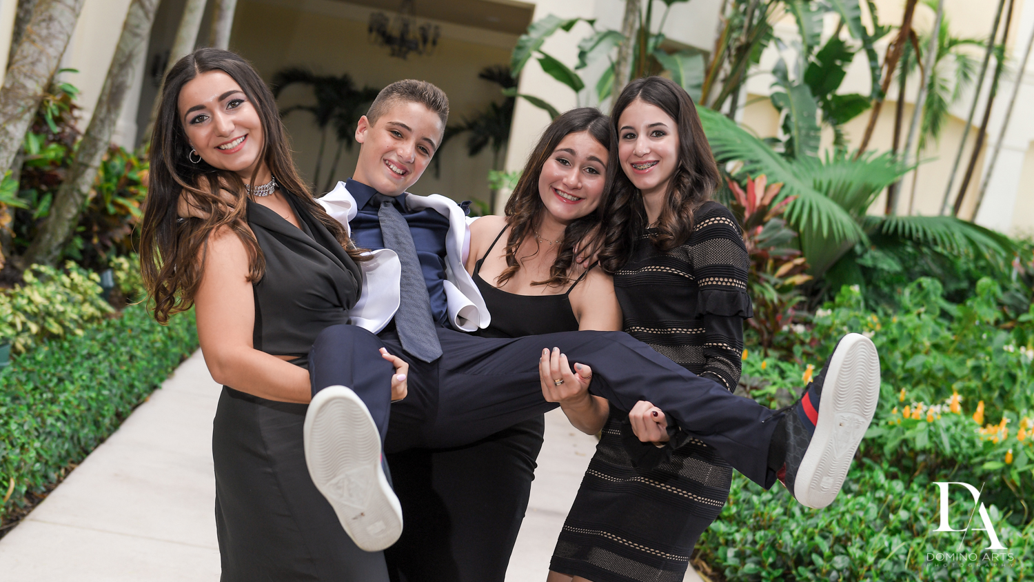 Fun pics at Luxury B'Nai Mitzvah at Woodfield Country Club by Domino Arts Photography