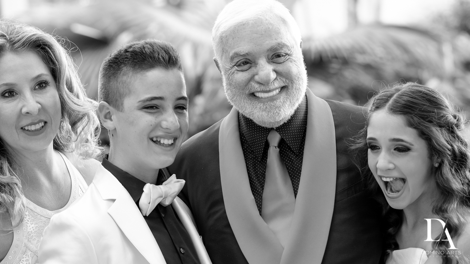 Family pictures at Luxury B'Nai Mitzvah at Woodfield Country Club by Domino Arts Photography