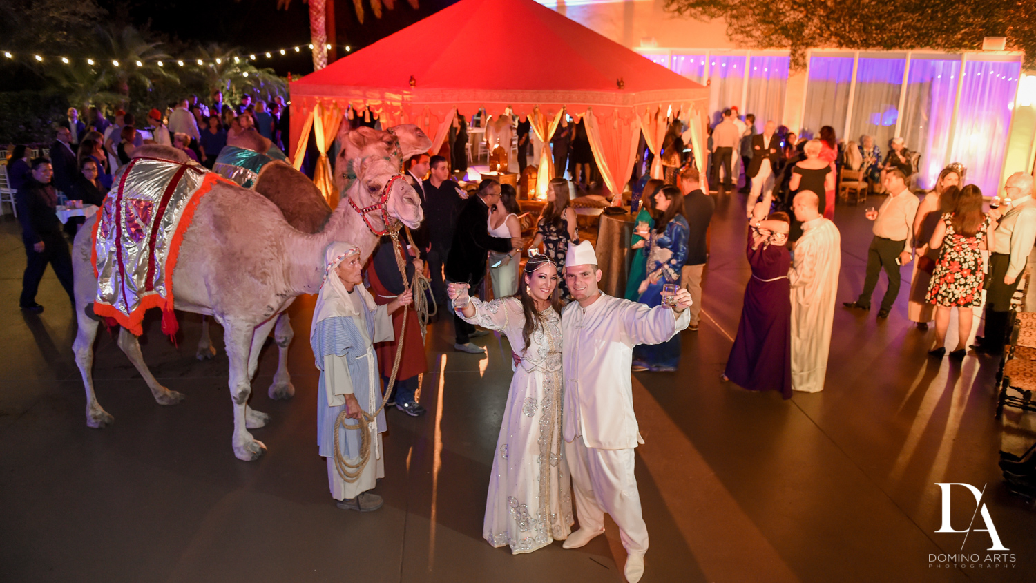 Camels at Traditional Henna Party Photography at Lavan South Florida by Domino Arts