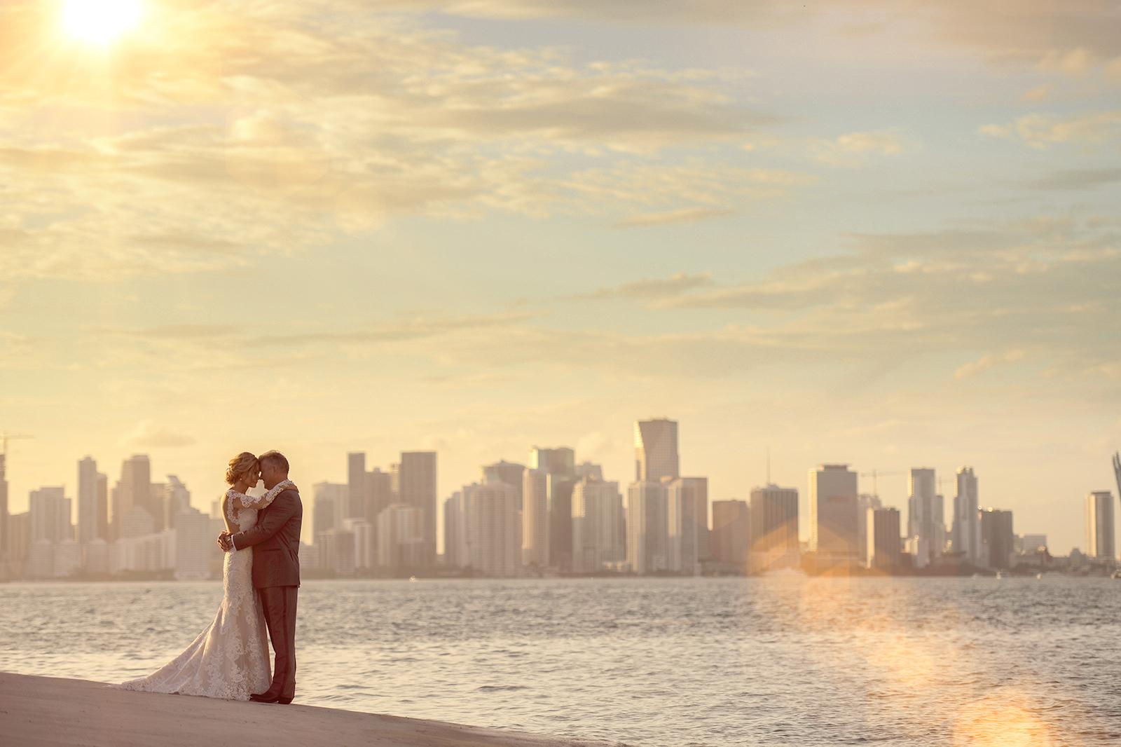 Classical & Elegant Fisher Island Wedding