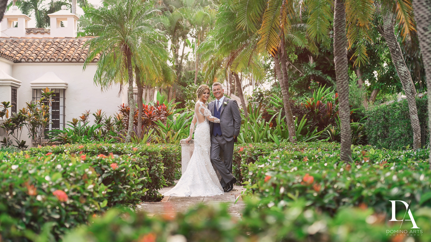 portraits Classic & Elegant Wedding Photography at Fisher Island Miami by Domino Arts Photography