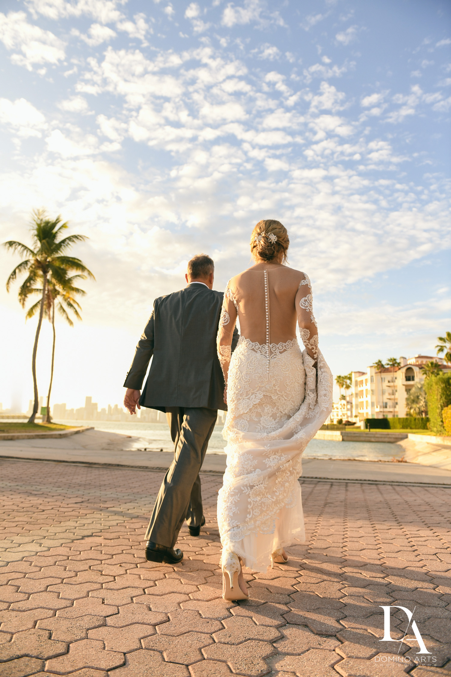 Classic & Elegant Wedding Photography at Fisher Island Miami by Domino Arts Photography