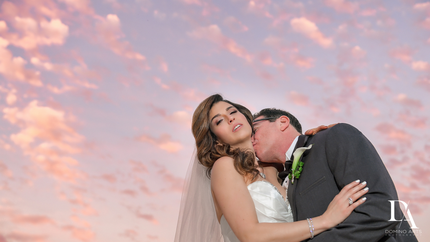 Romantic Wedding Photography in South Florida at Fort Lauderdale Marriott Harbor Beach Resort & Spa by Domino Arts Photography